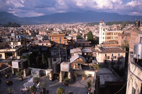 View over Kathmandu, Nepal